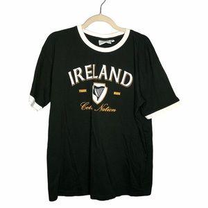 4/$25 LandsDowne Green Ireland Graphic T shirt XXL